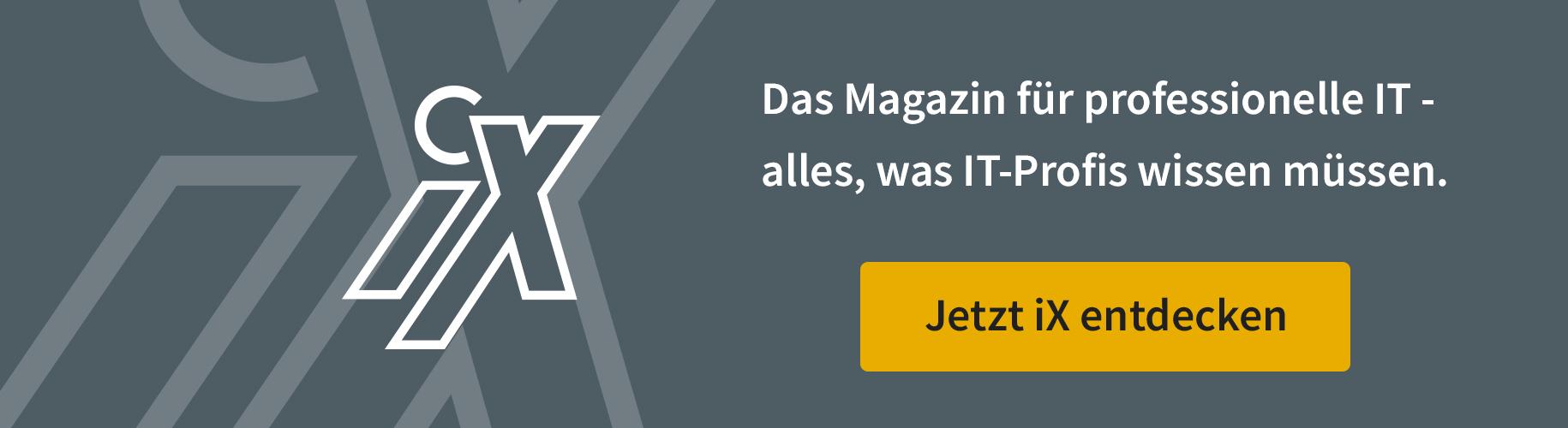 Mehr von iX Magazin